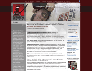 cuttingedgetraining.org screenshot