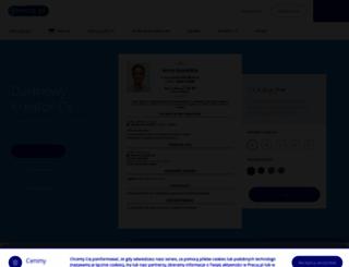 cv.pracuj.pl screenshot