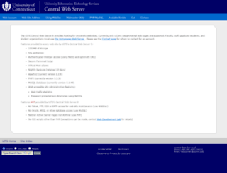 cvb.uchc.edu screenshot