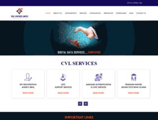 cvlindia.com screenshot