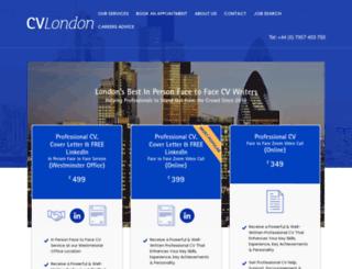 cvlondon.net screenshot