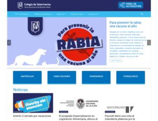 cvpba.org screenshot
