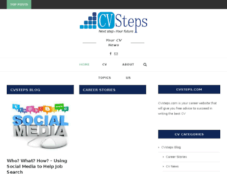 cvsteps.com screenshot