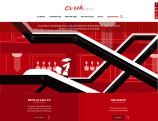 cvukgroup.com screenshot