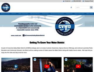 cvwd.com screenshot