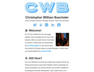 cwbuecheler.com screenshot