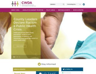 cwda.org screenshot