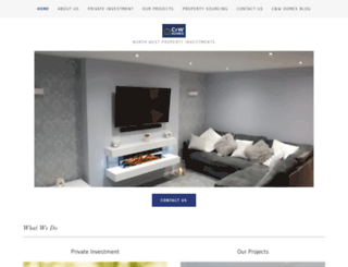 cwhomes.co.uk screenshot