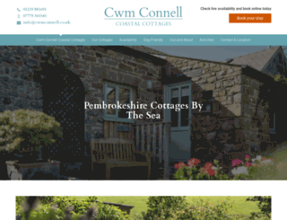 cwmconnell.co.uk screenshot