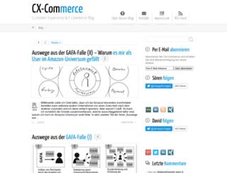cx-commerce.de screenshot