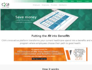 cxawork.com screenshot