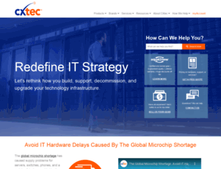 cxtec.com screenshot