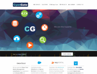 cyangate.com screenshot