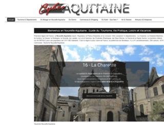 cyber-aquitaine.com screenshot