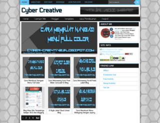 cyber-cre4tive.blogspot.com screenshot