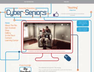 cyber-seniors.ca screenshot