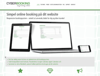 cyberbooking.dk screenshot