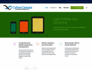 cybercamps.com screenshot