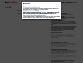 cybercampus.um-surabaya.ac.id screenshot