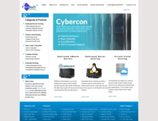 cybercon.net screenshot