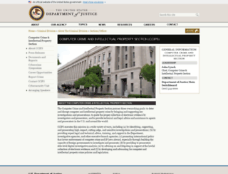 cybercrime.gov screenshot