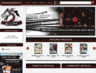 cyberlordgames.com screenshot
