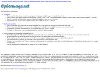 cybermage.net screenshot