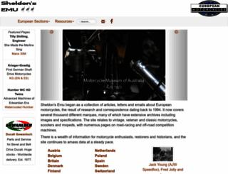 cybermotorcycle.com screenshot