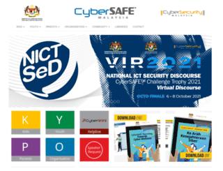 cybersafe.my screenshot