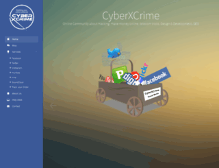 cyberxcrime.com screenshot