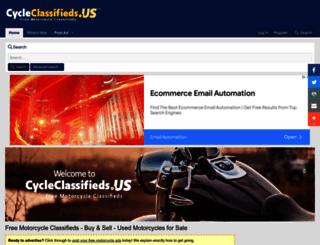 cycleclassifieds.us screenshot