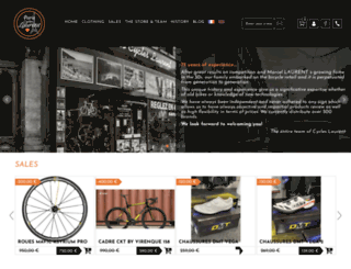 cycleslaurent.com screenshot