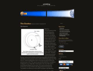 cycliccatastrophism.org screenshot