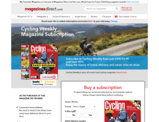 cyclingactive.com screenshot