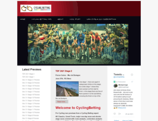 cyclingbetting.co.uk screenshot