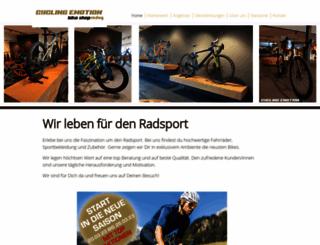 cyclingemotion.ch screenshot