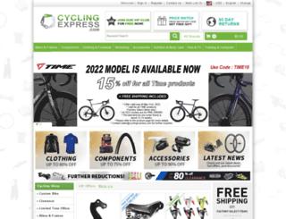 cyclingexpress.com screenshot