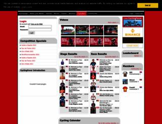 cyclingfever.com screenshot