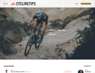 cyclingtips.com.au screenshot