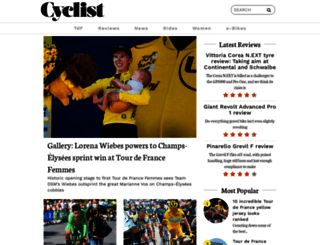 cyclist.co.uk screenshot