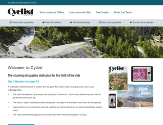 cyclistmag.co.uk screenshot