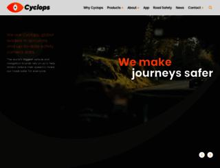 cyclops-uk.com screenshot