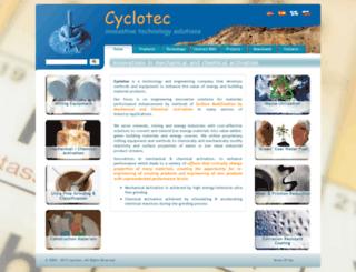 cyclotec.net screenshot