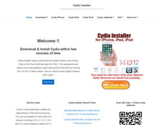 cydiainstaller.net screenshot