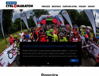 cyklomaratontour.cz screenshot