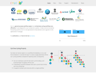 cylc.org screenshot