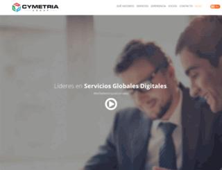 cymetria.com screenshot
