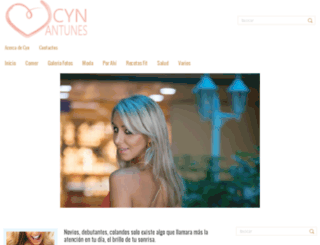 cynantunes.com screenshot
