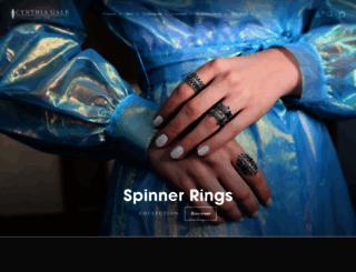 cynthiagale.com screenshot