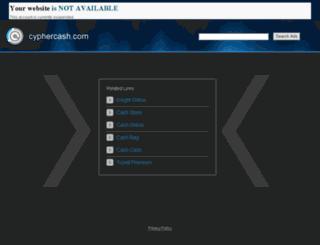 cyphercash.com screenshot